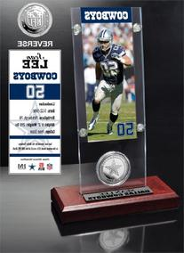 NFL Dallas Cowboys Sean Lee Ticket and Minted Coin Destop