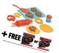 Seaside Sidekicks Sand Cookie Set: Sunny Patch Beach Play