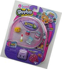 Shopkins Season 5 - 5 Pack and Bonus Charm Bracelet