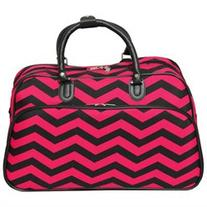 All-Seasons ZigZag 21-inch Carry-On Shoulder Tote Duffel Bag