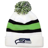 Seattle Seahawks '47 Brand White Breakaway Knit Hat