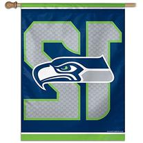 NFL Seattle Seahawks 12th man 27 x 37 Inch Vertical Flag