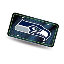 Seattle Seahawks Official NFL 12 inch x 6 inch license plate