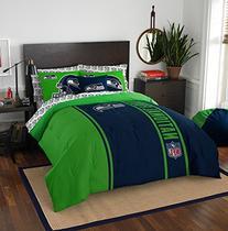 "NFL Seattle Seahawks Soft & Cozy Full Comforter Set , 76"" x"