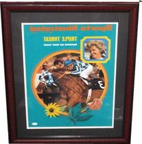 Secretariat 11x14 Sports Illustrated Cover- Signed by Jockey