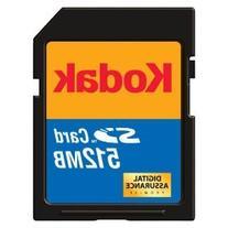 Secure Digital Card, 512Mb, Kodak