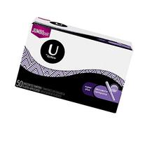 U by Kotex Security Tampons, Super Plus, Unscented, 50 Count