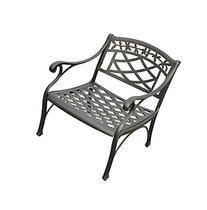 Crosley Furniture Sedona Cast Aluminum Club Chair