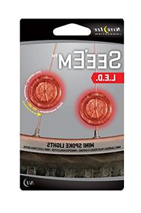 Nite Ize See'em LED Mini Spoke Lights Red 2 Pack