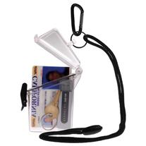 Witz See-It Safe ID Case: Clear Yellow