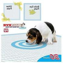 As Seen on TV Set of 30 Bulls Eye No Mess Pet Pee Pads