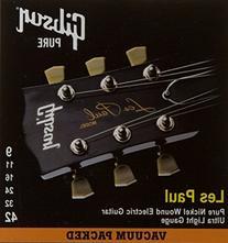 Gibson Gear SEG-LP9 Nickel Plated Electric Guitar Strings,