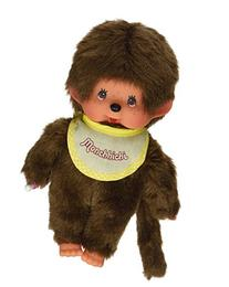 "Sekiguchi Monchhichi Boy Yellow Bib Monkey 8"" Doll"