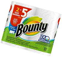 Bounty Select-A-Size Paper Towels, White, 2 Huge Rolls-2 Ct