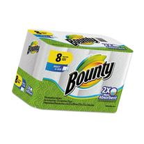 Bounty Select-a-Size Perforated Roll Towels, 2-Ply, White, 6
