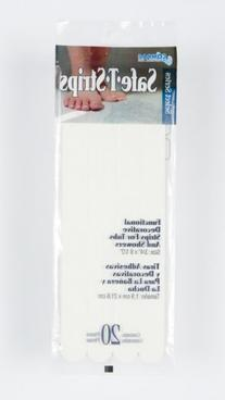 Compac Select Safe-T-Strips, White, 3/4 Inches X 8.5 Inches