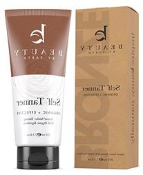 Beauty by Earth Dye-Free Natural Sunless Self Tanner for