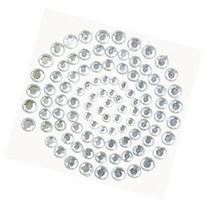 Self-Adhesive Rhinestones 100/Pkg-Silver