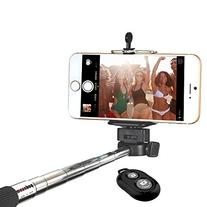 Minisuit Selfie Stick with Bluetooth Remote for Apple &