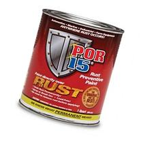 NEW POR-15 Semi Gloss Black Rust Preventive Paint Quart