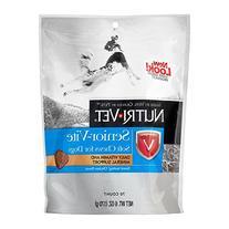 Nutri-Vet Senior-Vite Soft Chews for Dogs, 6-Ounce