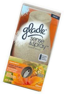 Glade Sense and Spray Starter *New Design* Hawaiian Breeze,