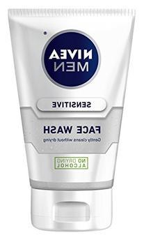 Nivea for Men Sensitive Face Wash for Men, 5 Ounce by Nivea