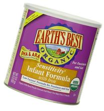 Earth's Best Sensitivity Infant Formla With Iron