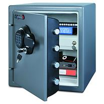 Electronic Fire Safe, 1.23 ft3, 16-3/8w x 19-3/8d x 17-7/8h