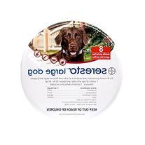 Bayer Seresto Flea and Tick Collar, Large Dog, 2-Pack