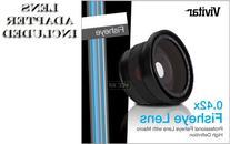 VIVITAR Series 1 0.42X HD FishEye Ultra Wide Angle Lens with