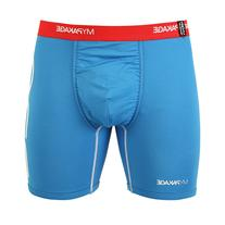 MyPakage Pro Series Boxer Brief Royal Blue/Red Size X-Large