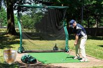 The Net Return Pro Series Multi-Sport Golf Net