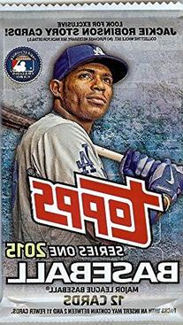 Topps Series One 2015 Baseball Cards: Pack of 12 Cards
