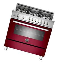 """Professional Series PRO366GASVI 36"""" Natural Gas Range With 6"""