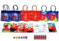 Sesame Street Elmo Party Favor Set - 6 Packs