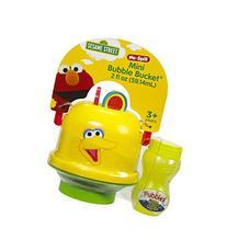 Little Kids Sesame Street Mini No-Spill Bubble Bucket Big