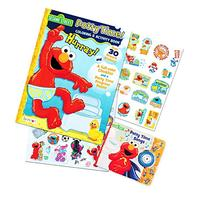 Sesame Street Elmo Potty Training Book Set -- 2 Books