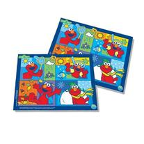 Neat Solutions Sesame Street Vinyl Floor and Meal Mat, 2