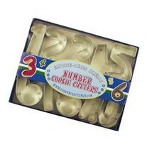 Fox Run Number Set Cookie Cutter Set Brand New