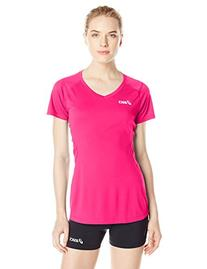 ASICS Women's Set Jersey, Pink Glow, Small