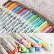 15 Color Full Set - Zebra Mildliner Soft Color Double-Sided