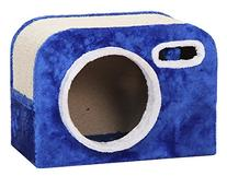 PETPALS GROUP Camera Shaped Cat Condo with Scratching Pad,