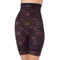 Bali Women`s Lace `N Smooth Hi-Waist Thigh Slimmer, 2XL-