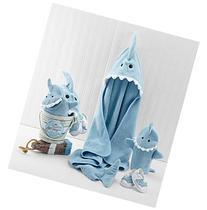 Baby Aspen 4-Piece Shark Fin Bath Gift Set
