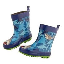 Stephen Joseph Children's Shark Rain Boots - Child Size 11