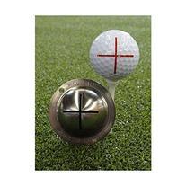 Tin Cup Sharpshooter Golf Ball Marking Stencil, Steel