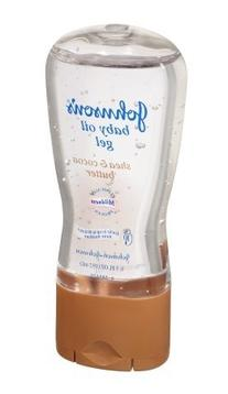 Johnsons Baby Oil Gel Shea & Cocoa Butter 6.5 Ounce
