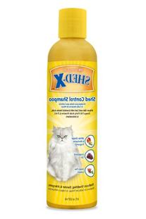 SynergyLabs Shed-X Shed Control Shampoo for Cats; 8 fl.oz