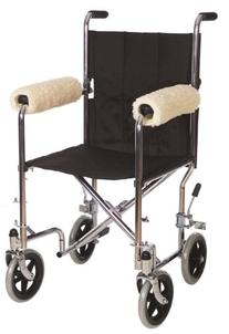 Sheepette Wheelchair Armrest Pads
